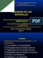 CAPITULO III  ING. DE LOS MATERIALES -2016