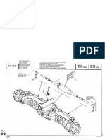 Manitou 732 Rear Axle Steering System
