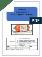 LAB N°01 EL TRANSFORMADOR TRIFASICO