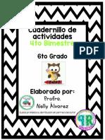 CUADERNILLO DE ACTIVIDADES 4TO BIMESTRE 6TO GRADO-1