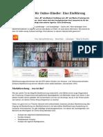 Marktforschung für Online--Händler