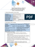 Activity Guide and Evaluation Rubrics - Task 5 - Educational Activity