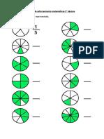 Fracciones 3° basico GUIA DE REFORZAR