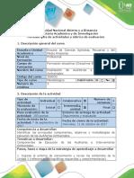 Guía de Actividades y Rúbrica de Evaluación - Paso 2- Escoger Empresa o Proceso Productivo para la Auditoria ambiental (1)