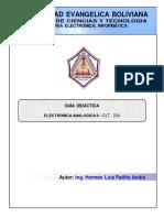 GUIA DIDACTICA ANALOGICA II 2012