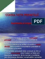 curs consultatia prenatala