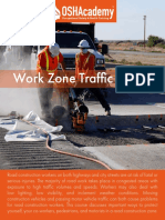 612 Study Guide - Work Zone Traffice Safety