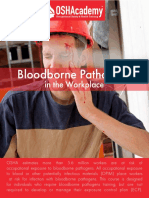 655 Study Guide - Bloodborne Pathogens in the Workplace
