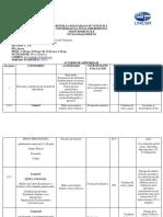 acuerdo de apredizaje del curso historia economica y social de venezuela para la carrera  de adminitracion MIlvic