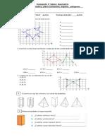 Evaluación 5° geometria semestral