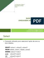 a07 Bd Linguagem SQL Juncao