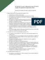 Las Formas legales de organización empresarial en Perú