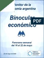 Binocular Semanal - 22 de Mayo 2020