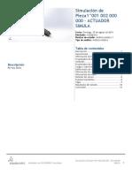 Pieza1^001 002 000 000 - ACTUADOR SIMULA-Análisis estático 1-1