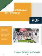 Pronomes Reflexivos em Português
