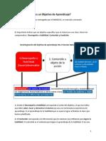 Como disgregar un Objetivo de Aprendizaje.pdf