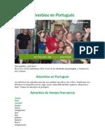 Adverbios en Portugués