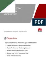 iManager U2000 Performance Management