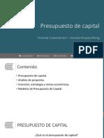 Sesión 06 - Presupuesto de capital