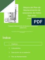 Proyecto_Mejora Del PMP Estaciones de Metro Tipo Pozo