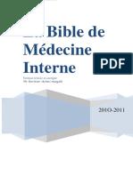 BIBLE MÉDECINE INTERNE (1)