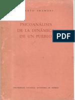 Aniceto Ara Moni, Psicoanálisis de la Dinámica de un Pueblo