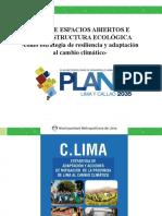 ESPACIOS ABIERTOS E INFRAESTRUCTURA ECOLÓGICA