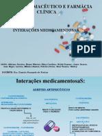 Interações medicamentosa