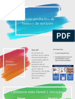 6. proceso productivo bienes y servicios