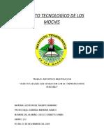 REPORTE DE INVESTIGACION( ASPECTOS LEGALES)