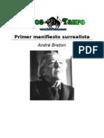 Bretón André Primer Manifiesto Surrealista