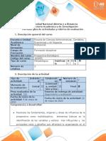 Guía de actividades y rúbrica de evaluación - Fase 4 - Elaborar el plan prospectivo y estratégico para la empresa seleccionada