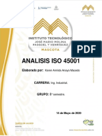 analisis iso 45001