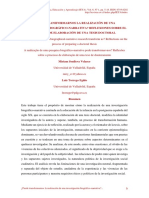 reflexiones proceso doctoral-VALPARAISO CHILE