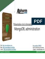 alphorm.com - Support de la formation MongoDB Administration_SS