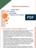 América Latina en los sesenta