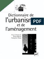 Dictionnaire de l'Aménagement Et de l'Urbanisme Kheiroarchi
