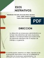 DIRECCION EN PROCESOS ADMINISTRATIVOS (1)