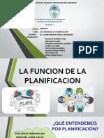 1 G - 6 - GERENCIA - La función de planificación (1).pptx
