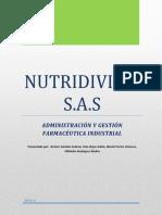 Trabajo de Simulación Empresarial AYGFI NUTRIDIVIAM