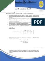 SISTEMAS DE ECUACIONES DE 3X3 (1)
