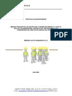 Protocolo bioseguridad PAPSO MTTO NORTE