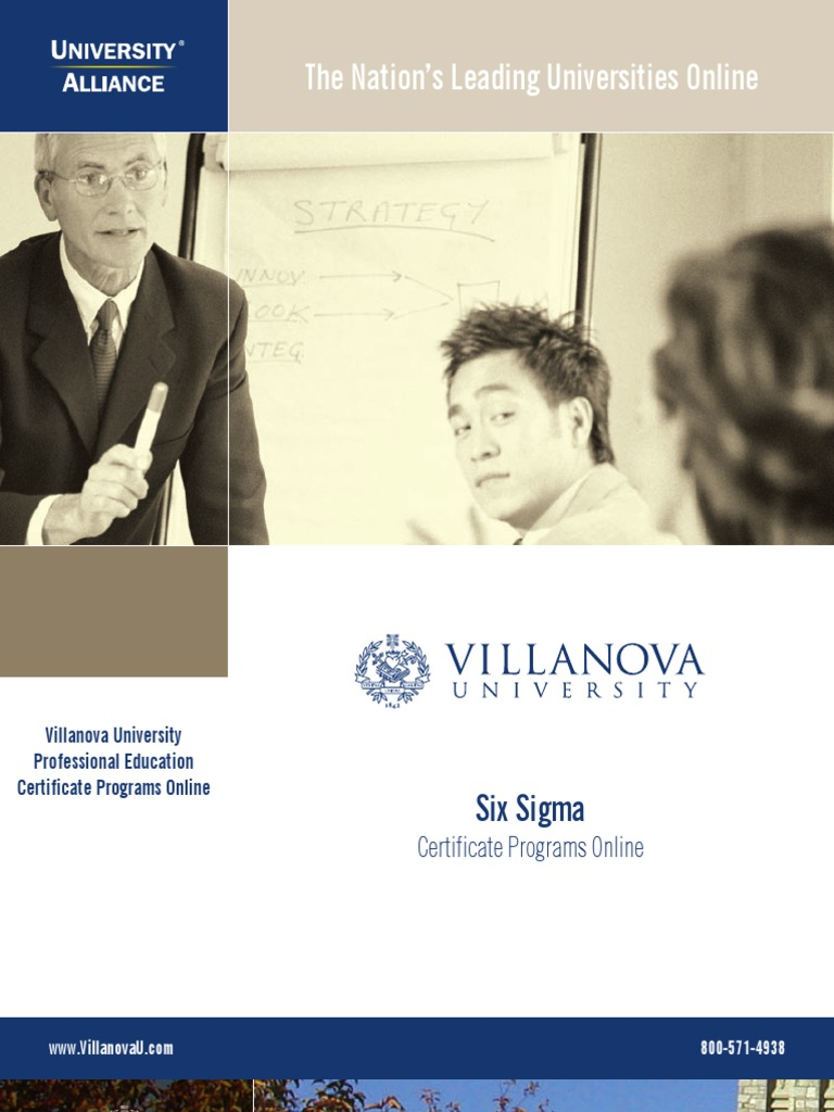 Villanova6sigmat2 Six Sigma Design For Six Sigma