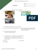 Higiene y Seguridad de Alimentos _ Print - Quizizz