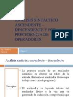 Analisis Sintactico Ascendente - Descendente - Clase 7.pptx