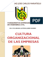 TEMA 07 - Cultura Organizacional