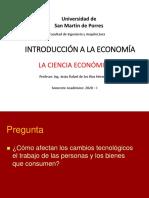 Introducción a la Economía - FIA - USMP - VIRTUAL - PPT