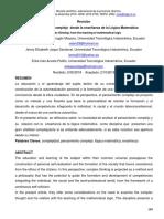 Dialnet-ElPensamientoComplejoDesdeLaEnsenanzaDeLaLogicaMat-6759784