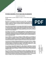 Resolución Acuerdos de Gobernabilidad
