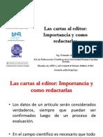 15 Las Cartas Al Editor